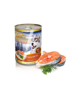 Harga ALPS NATURAL CANNED SALMON 400G (24CANS)
