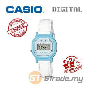 Harga CASIO Kids Ladies LA-11WL-2A Digital Watch | Small Cute Petit Leather