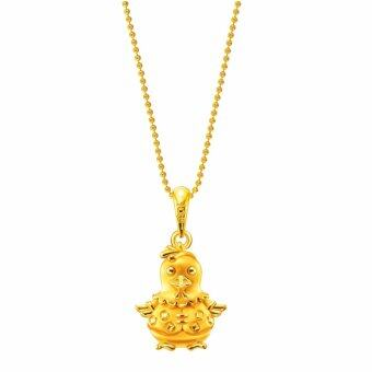 Harga Poh Kong Auspicious 916 Gold Adorable Younglings Pendant (Male)