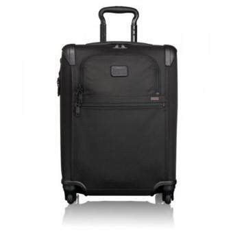 Harga Tumi Alpha 2 Continental Expandable 4 Wheel Carry-On, Black, One Size