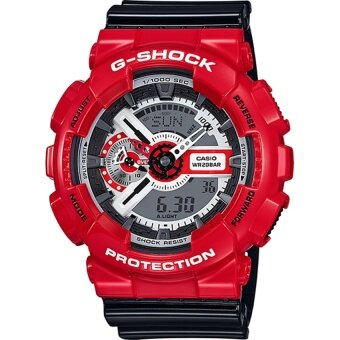 Harga Casio G-Shock GA-110RD-4A XL Red/Black GA-110RD-4A