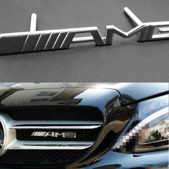 Harga Car-Styling Auto Metal 3D Sticker Car Emblem Badge Chrom For for Mercedes-Benz AMG GLK W211 W212 W204 2014-2015 GLC ML GL
