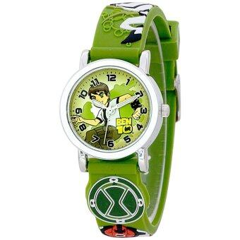 Harga Ben10 Boy's Rubber Strap Watch BTFR240-03B (Green)