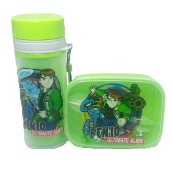 Harga BEN 10 ULTIMATE ALIEN LUNCH BOX WITH BOTTLE