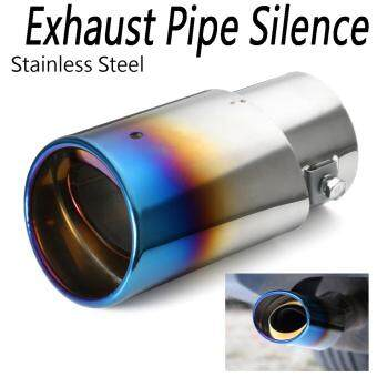 Harga Colourful Stainless Steel 142mm Autos Exhaust Pipe Trim Tips Muffler Pipe Decor