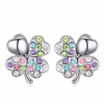 Harga LOVENGIFTS Swarovski Lucky Stud Earrings