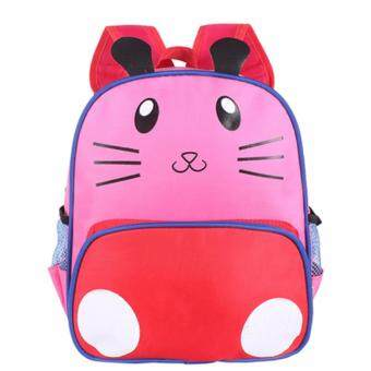 Harga KIDS Kindergarten Nursery Pink Kitten Kid Children Toddler Junior Cartoon Bag Backpack