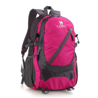Harga Camel Outdoor Camping Travelling Hiking Backpack (Rosered)