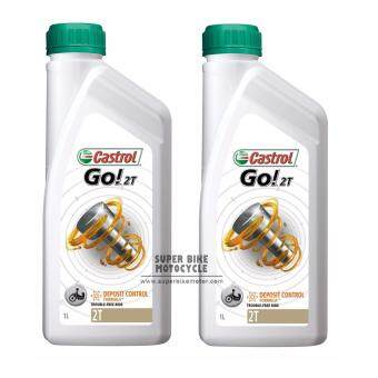 Harga Castrol Go 2T Oil (2 X 1 Litre)-Motorcycle