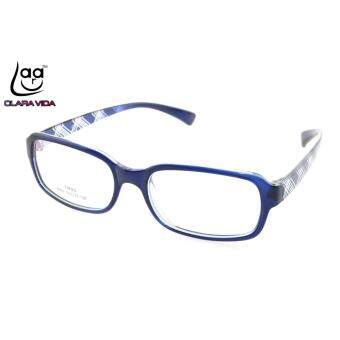 Harga Large Retro TR90 Ultra Light Memory Nerd Glasses Frame Blue