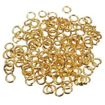 Harga 200pcs Jump Rings Round Loop Plated Jewelry Finding Tools 4mm/5mm/6mm/7mm/8mm/9mm/10m Gold