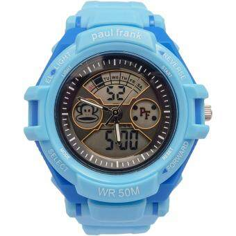Harga Paul Frank Kid's Blue Rubber Strap Watch PFSQ1375