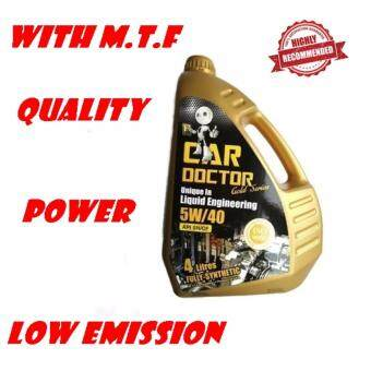 Harga PREMIUM ENGINE OIL CAR DOCTOR FULLY SYNTHETIC 5W/40 WITH M.T.F