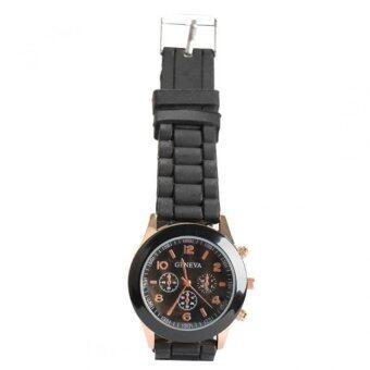 Harga Silicone Jelly Quartz Sports Wrist Watch