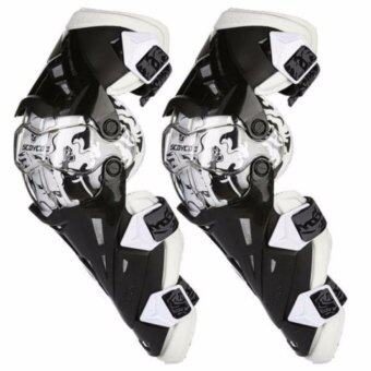 Harga Motorcycle Protective kneepad Authentic Motorcycle Knee Protector Motocross Racing Guard Knee Pads Protective Gear Scoyco K12 White