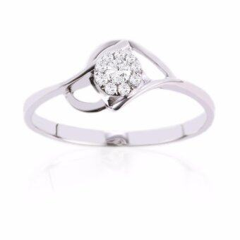 Harga Lazo Diamond White Gold Diamond Ring