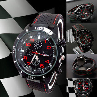 Harga Bolster Store Military Pilot Silicone Sport Casual Watch