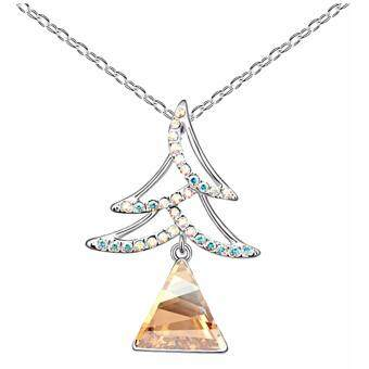 Harga LOVENGIFTS Collection Swarovski Wish Tree Necklace
