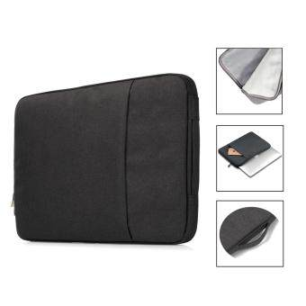 Harga Jiaing 13.3 inches Waterproof Laptop Sleeve Case Bag Protective Cover for Apple, Acer, Asus, Dell, Fujitsu, Lenovo, HP, Samsung, Sony, Toshiba (Black)