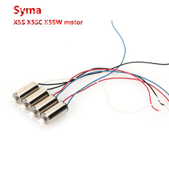 Harga 4PCS CW CCW Motor Engine Spare Parts For Syma X5S X5SC X5SW RC Quadcopter Drone