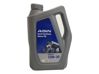 Harga AISIN SN/CF 10W30 Semi Synthetic Engine Oil 4 Litre