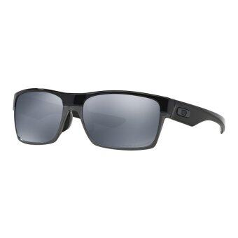 Harga Oakley TwoFace Asian Fit OO9256-06 Polished Black Sunglasses [60]
