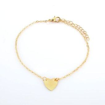 Harga Sexy Gold Tone Love Heart Anklets For Women Girl Anklet Fashion Jewelry