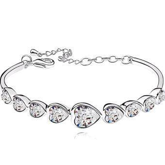 Harga LOVENGIFTS Swarovski Forever Love Bangle
