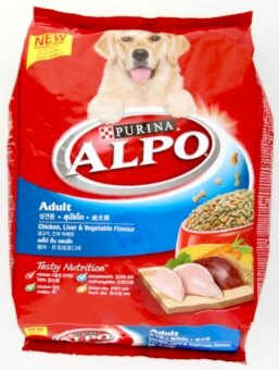Harga Purina Alpo Chicken Liver & Vegetable Flavour Adult Dog Food 3.0kg