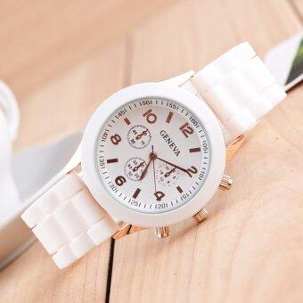 Harga Geneva Silicone Band Quartz Jelly Wrist Watches