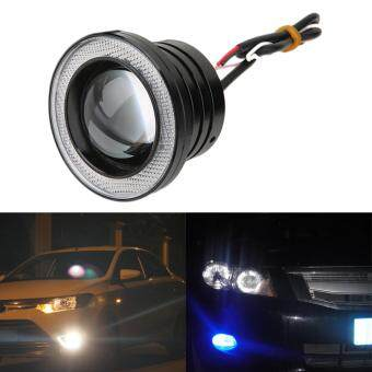 "Harga 3"" 30W Car Angel Eye COB Halo Ring LED DRL Projector Lens Driving Light"