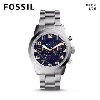 Harga FOSSIL PILOT 54 CHRONO STAINLESS STEEL WATCH