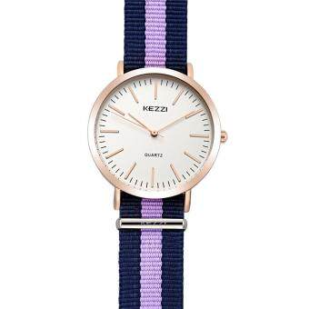 Harga weisizhong KEZZI Brand 2016 New Fashion Women Watches Sweden Design High Quality Ladies Wristwatch Reloj Mujer Waterproof Dames Horloges (Purple)