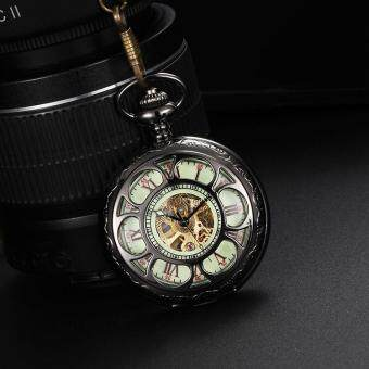 Harga iooilyu The new automatic mechanical watch classic retro pocket watch trade