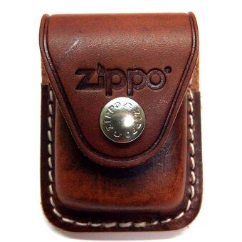 Harga Zippo LPLB Genuine Leather Lighter Pouch (Brown)