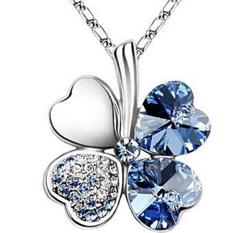 Harga LOVENGIFTS Swarovski Lucky Pendant Necklace