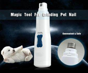 Harga Pet Nail Grinder Electric Nails Grooming Tool Pet Nail File Gentle Paws Grinding Clipper Trimmer for Dogs Cats