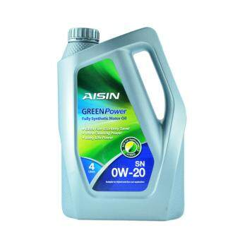 Harga AISIN GREEN POWER 0W20 Full Synthetic Motor Oil 4 Litre