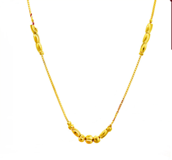Harga ONLY 24K Golden The Beauty Of The Golden Pearl Necklace