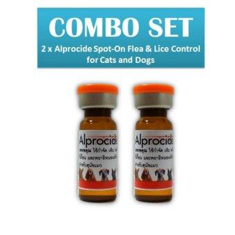 Harga 2 x Alprocide Spot-On Flea & Lice Control for Cats and Dogs