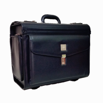 Harga Austin Reed Trolley Pilot Case Office Document Bag Lawyer Case Bag Medical Bag (Black)