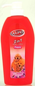 Harga Purina Alpo Puppy 2 in 1 Shampoo & Conditioner 600ml