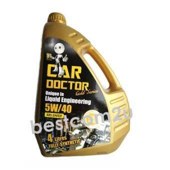 Harga Car Doctor Engine Oil Fully Synthetic Lubricant 5W-40 (4L)