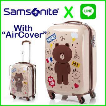 Harga SAMSONITE and LINE FRIENDS KOREA Travel Carrier Luggage SuitCase 20 inch