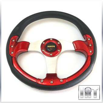 Harga MOMO Racing Rally Flat Steering Wheel 35cm (Red)