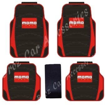 Harga 5pcs Momo Universal Waterproof Car Floor Rubber Mats