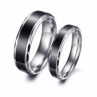 Harga size 7 Christmas Gorgeous Men Wedding Ring for Couple Engagement Accessories