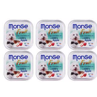 Harga Monge Paté and Chunkies with Lamb and Apple - 100g x 6