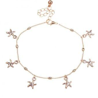 Harga Nice Summer Foot Chain Starfish Anklet Sandbeach Beauty Gold Jewelry
