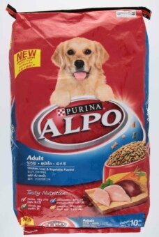 Harga Purina Alpo Chicken Liver & Vegetable Flavour Adult Dog Food 10kg